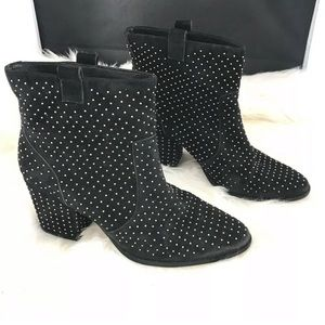 Rebecca Minkoff Boots Black Studded Booties SB2